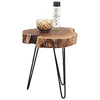 Beistelltisch metall gehämmert  Beistelltische & Tablett-Tische | Beistelltisch-Sets aus Holz ...