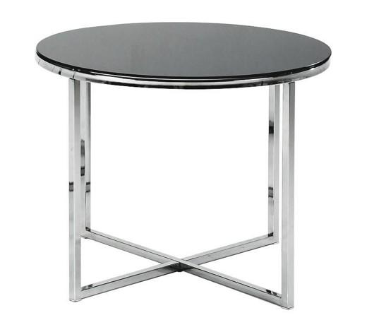 Beistelltisch rund schwarz online kaufen xxxlshop for Beistelltisch glas metall schwarz