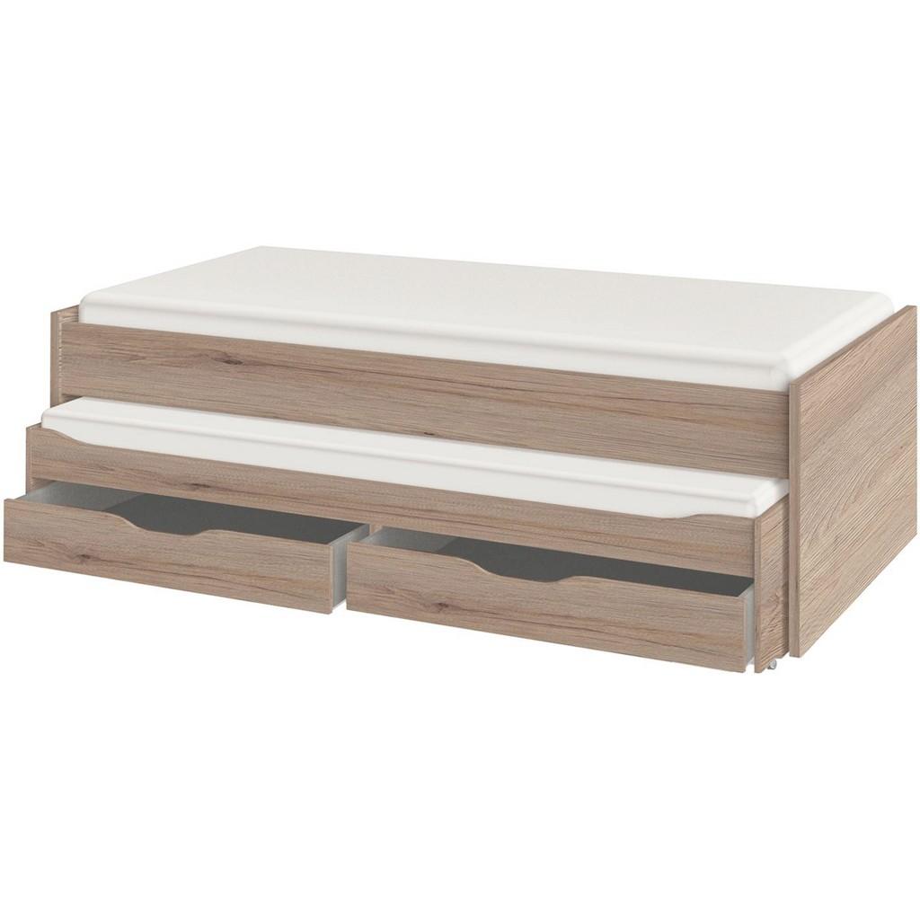 preisvergleich bett 90 cm x 190 200 cm in holzwerkstoff. Black Bedroom Furniture Sets. Home Design Ideas
