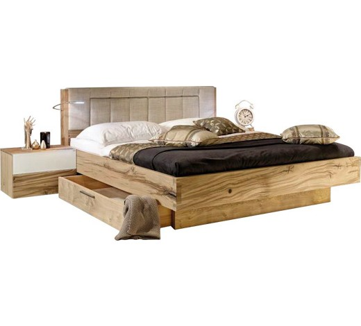bett altholz eiche 180 200 cm online kaufen xxxlshop. Black Bedroom Furniture Sets. Home Design Ideas