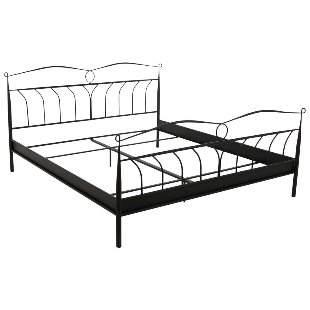 metallbett schwarz 140 preisvergleich die besten. Black Bedroom Furniture Sets. Home Design Ideas