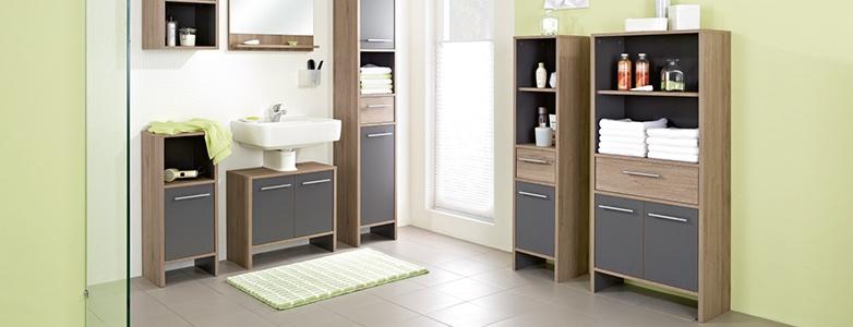Badezimmerschr nke online kaufen - Badezimmerschrank grau ...