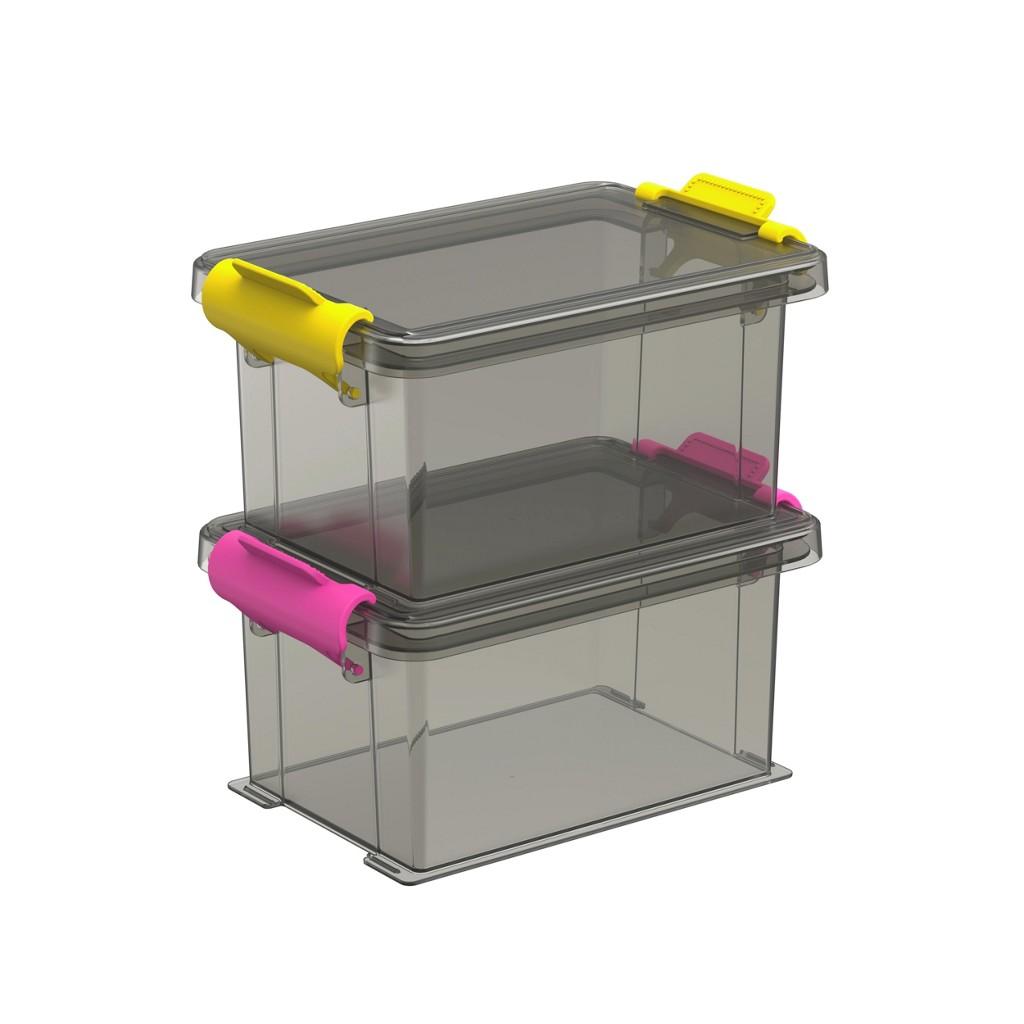 Box Mit Deckel 12,7/8,5/12,9 Cm