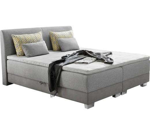 boxspringbett flachgewebe inkl bettkasten kissen matratze topper online kaufen xxxlshop. Black Bedroom Furniture Sets. Home Design Ideas