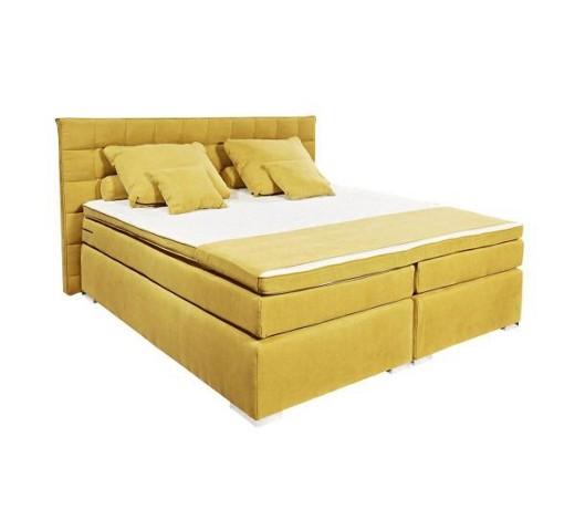 boxspringbett velours 140 200 cm inkl matratze topper online kaufen xxxlshop. Black Bedroom Furniture Sets. Home Design Ideas