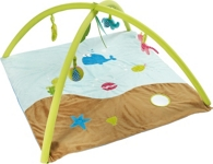 SPIELBOGEN JUNGLE FRIENDS - Multicolor, Textil (85/85/46cm) - MY BABY LOU