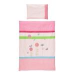 BABYBETTWÄSCHE 100/135 cm - Pink, Textil (100/135cm) - MY BABY LOU