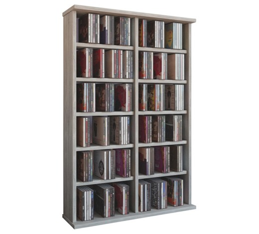 cd regal 60 92 18 cm sonoma eiche online kaufen xxxlshop. Black Bedroom Furniture Sets. Home Design Ideas