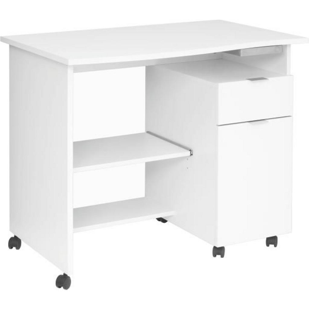 computertische buche rollen preisvergleich die besten angebote online kaufen. Black Bedroom Furniture Sets. Home Design Ideas