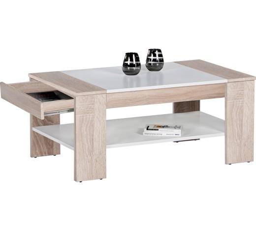 couchtisch rechteckig eichefarben wei online kaufen xxxlshop. Black Bedroom Furniture Sets. Home Design Ideas
