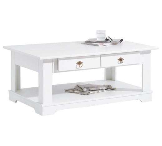 couchtisch teilmassiv kiefer teilmassiv rechteckig wei online kaufen xxxlshop. Black Bedroom Furniture Sets. Home Design Ideas