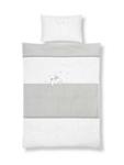 BABYBETTWÄSCHE 100/135 cm - Beige/Weiß, Textil (100/135cm) - MY BABY LOU