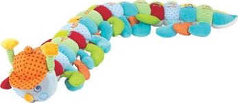 PLÜSCHTIER TAUSENDFÜSSLER - Multicolor, Textil (100cm) - MY BABY LOU
