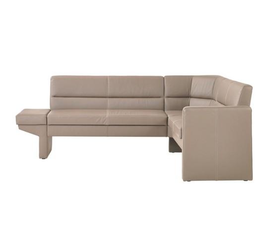 eckbank echtleder grau online kaufen xxxlshop. Black Bedroom Furniture Sets. Home Design Ideas