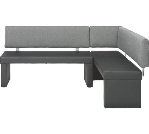 eckbank grau schwarz online kaufen xxxlshop. Black Bedroom Furniture Sets. Home Design Ideas