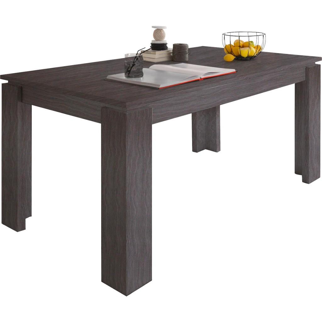 Tisch esstisch braun ausziehbar preisvergleich die for Dekorfolie tisch