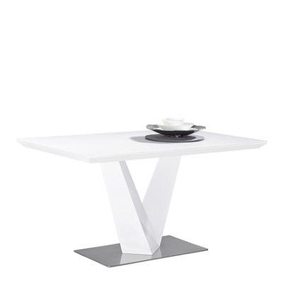 Novel esstisch weiss glas  Esstisch Wei Glas Ausziehbar. Latest Ovaler Esstisch Oval Holz Tisch ...