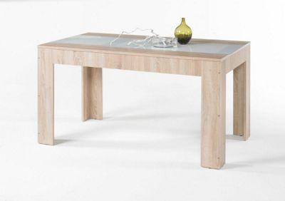 esstisch weisse beine holzplatte sitmbel live edge mit baumkante massives akazienholz with. Black Bedroom Furniture Sets. Home Design Ideas