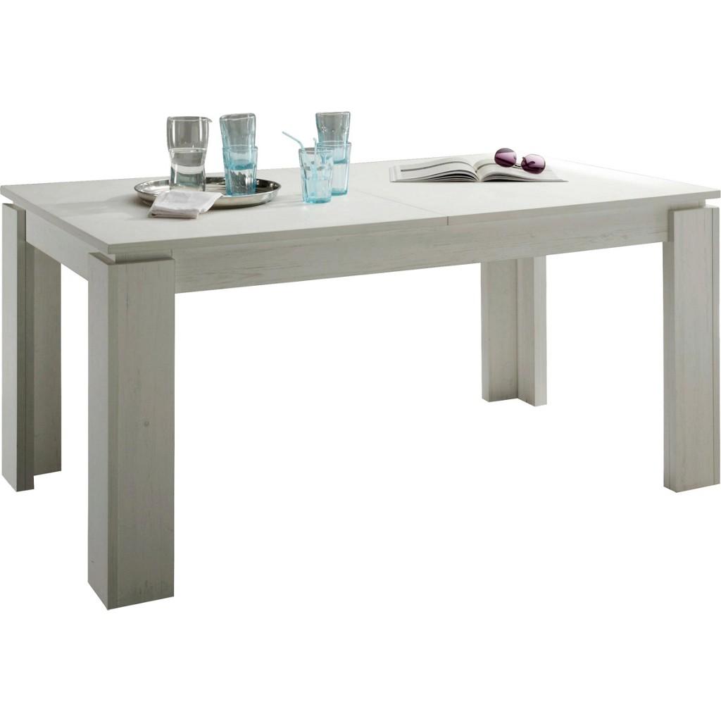 Tisch esstisch weiss ausziehbar preisvergleich die for Dekorfolie tisch