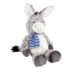 PLÜSCHTIER Esel - Blau/Grau, Textil (23cm) - MY BABY LOU