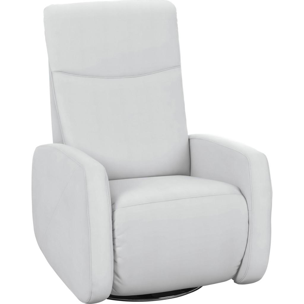 FERNSEHSESSEL in Weiß Textil