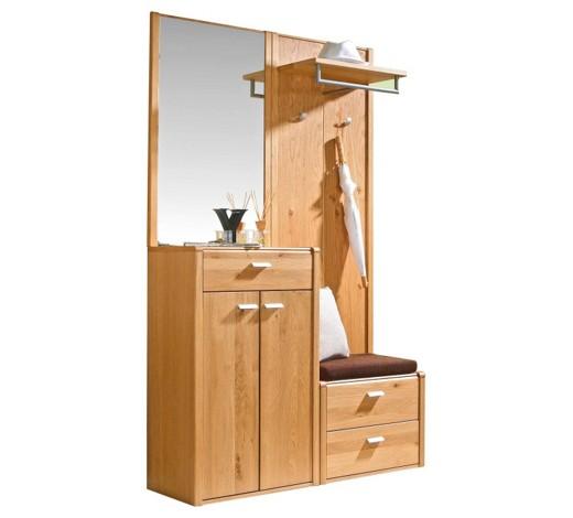 Garderobe eichefarben online kaufen xxxlshop for Garderobe modern holz