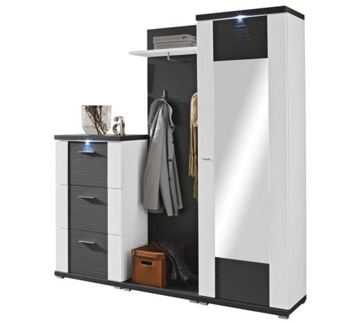 Garderobe graphitfarben wei online kaufen xxxlshop for 3 teilige garderobe