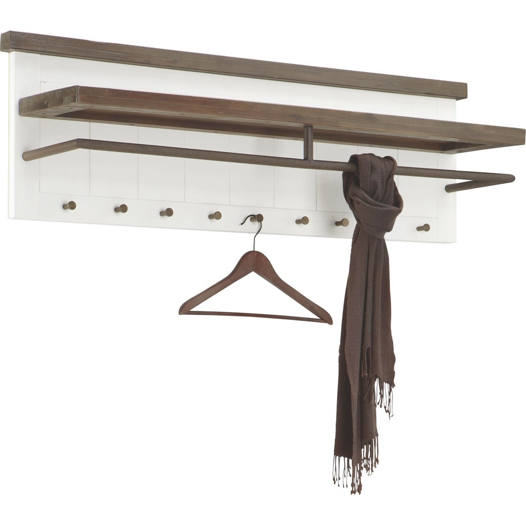 Garderobenpaneel buche preisvergleich die besten for Garderobenpaneel echtholz