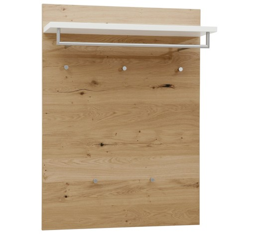 garderobenpaneel balkeneiche furniert lackiert eichefarben. Black Bedroom Furniture Sets. Home Design Ideas