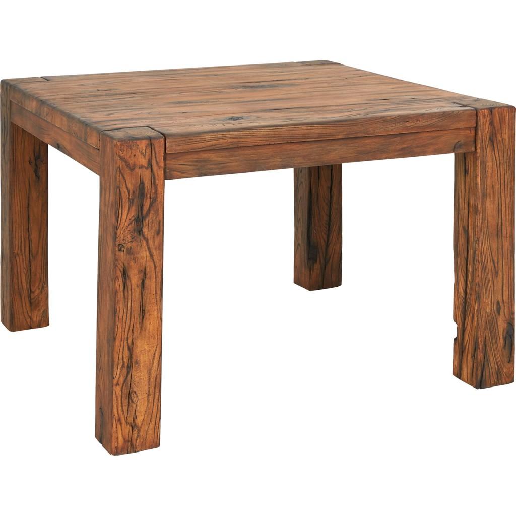 Gartentisch Aus Metall In Braun