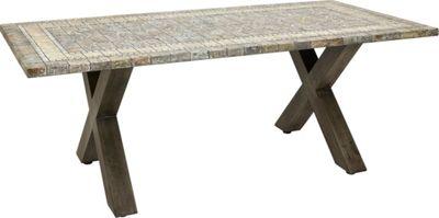 Gartentisch lang top gartentisch design u ideen fr schne - Tisch oval weiay ...