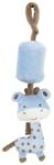 RASSEL - Blau, Textil (28cm) - MY BABY LOU