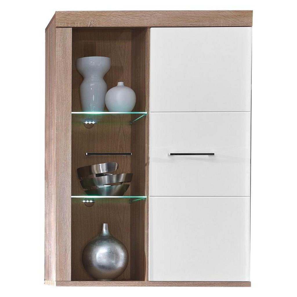 h ngevitrinen weiss preisvergleich die besten angebote online kaufen. Black Bedroom Furniture Sets. Home Design Ideas