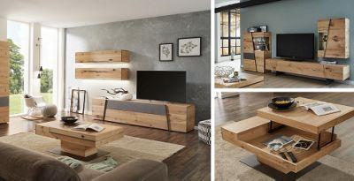 Natur Pur: Holz Im Wohnzimmer, Hause Deko