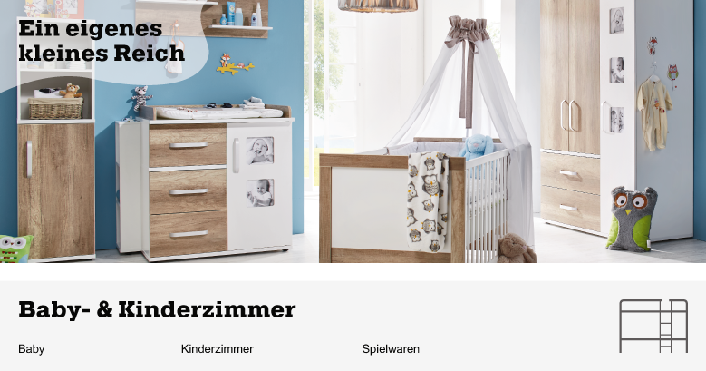 baby kinderzimmer jetzt shoppen m max. Black Bedroom Furniture Sets. Home Design Ideas
