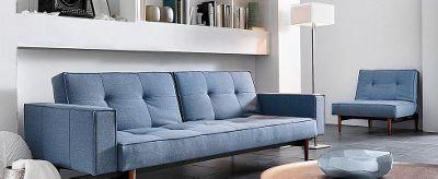 Schön Couch Und Sessel In Blau