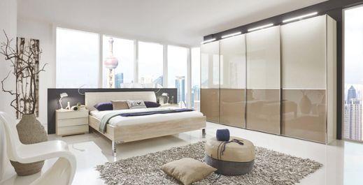 schlafzimmer in beige braun eichefarben komplette schlafzimmer