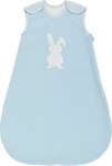 BABYSCHLAFSACK - Blau/Weiß, Textil (68/74) - MY BABY LOU