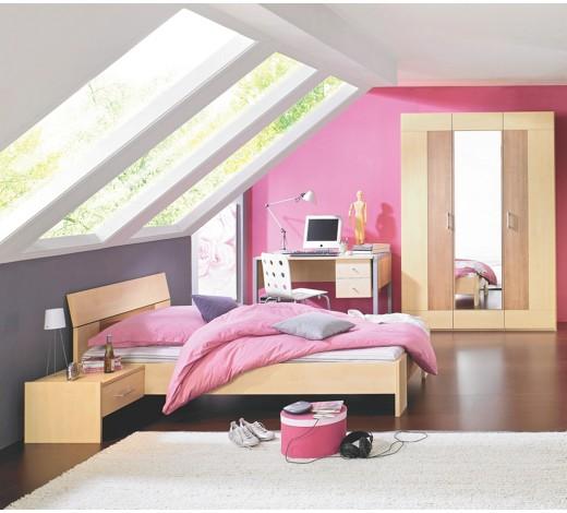 jugendzimmer m dchen modern. Black Bedroom Furniture Sets. Home Design Ideas
