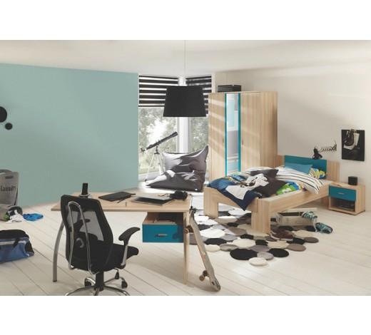 jugendzimmer apfelbaumfarben petrol online kaufen xxxlshop. Black Bedroom Furniture Sets. Home Design Ideas