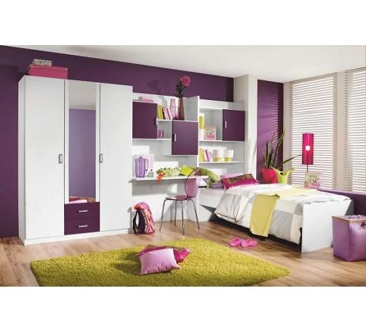 jugendzimmer brombeere wei online kaufen xxxlshop. Black Bedroom Furniture Sets. Home Design Ideas