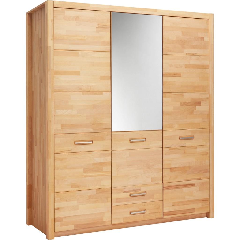 kleiderschrank massiv kernbuche preisvergleich die besten angebote online kaufen. Black Bedroom Furniture Sets. Home Design Ideas