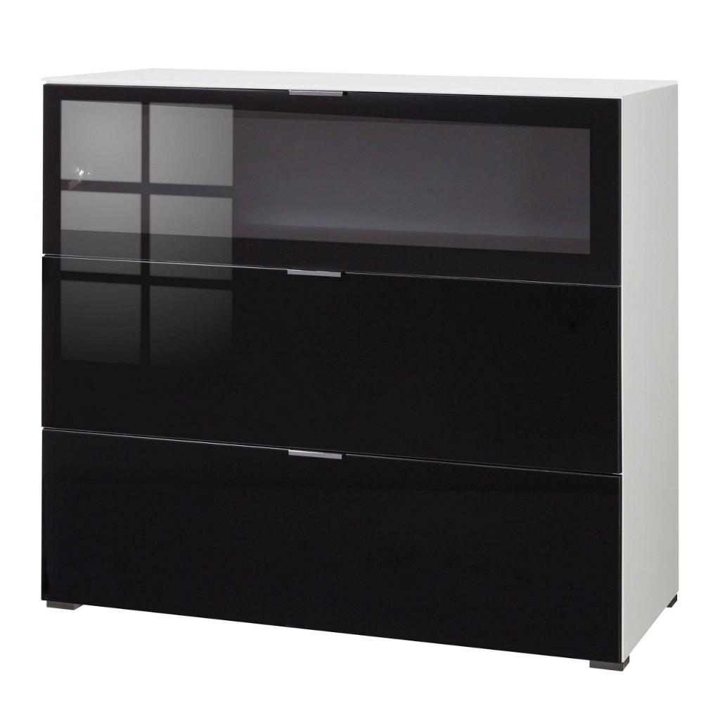 schwarz wei kommoden preisvergleich die besten angebote. Black Bedroom Furniture Sets. Home Design Ideas