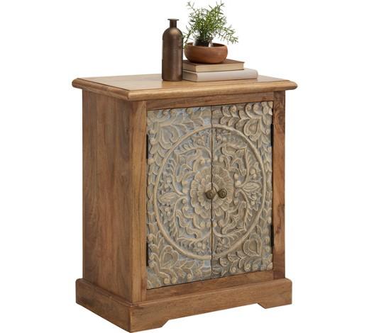 kommode mangoholz teilmassiv lackiert natur struktur. Black Bedroom Furniture Sets. Home Design Ideas