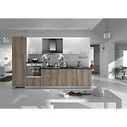 KUHINJSKI BLOK - barve jesena/bela, Moderno, leseni material (330cm) - XORA
