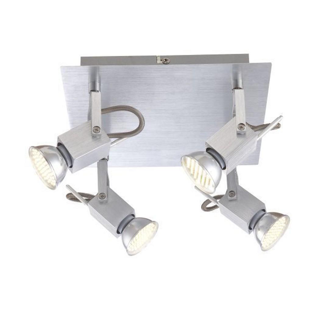 Deckenleuchte Fiona Mit Gu10 Led Lampen Kaufen: Leuchte Strahler Mit Schalter Gu10 Preisvergleich • Die