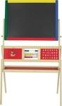 MALTAFEL - Multicolor/Kieferfarben, Holz/Metall (69/37/113cm) - MY BABY LOU