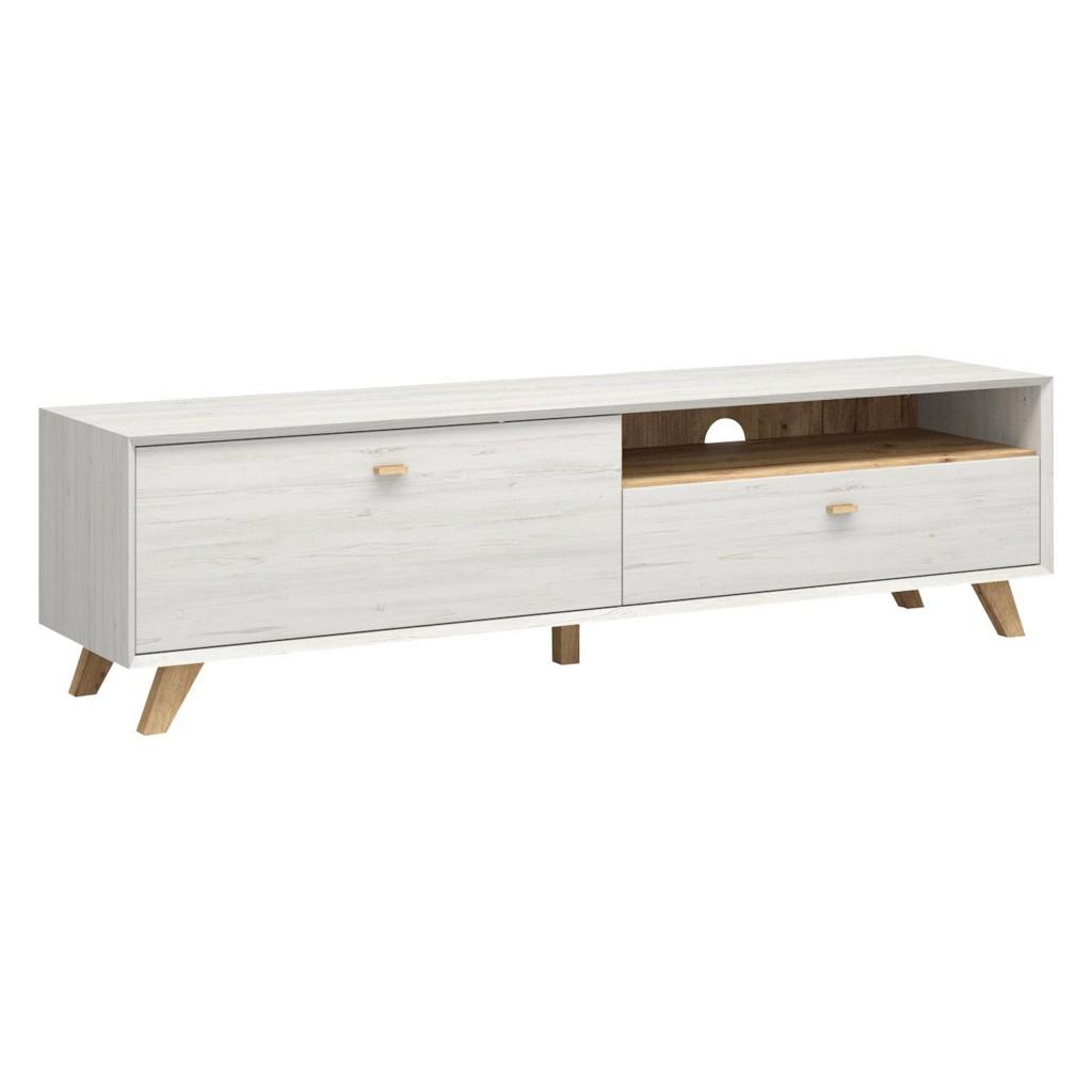 lowboard wei nussbaum preisvergleich die besten. Black Bedroom Furniture Sets. Home Design Ideas