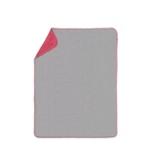 SCHMUSEDECKE 75/100 cm - Rot/Grau, Textil (75/100cm) - MY BABY LOU