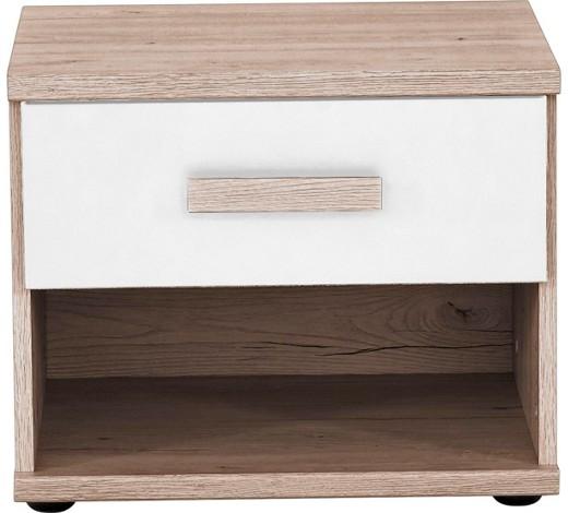 nachtk stchen eichefarben wei online kaufen xxxlshop. Black Bedroom Furniture Sets. Home Design Ideas
